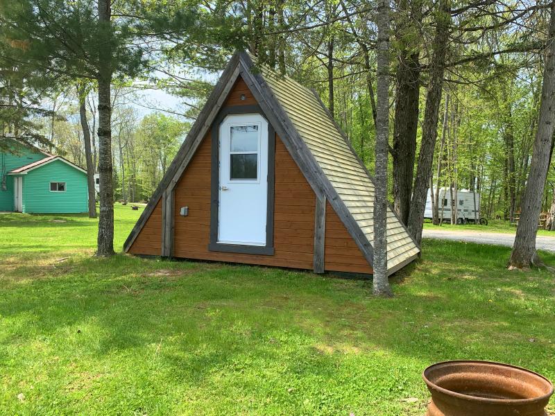 Nos tentes en bois